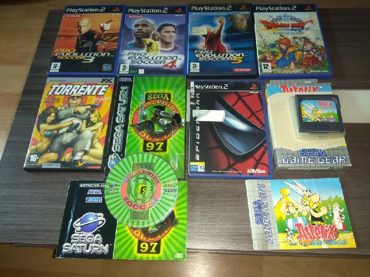 Pack juegos ps2, game gear pc y saturn