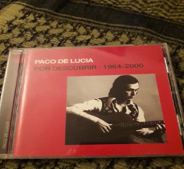 Paco de Lucía. Por descubrir. 1964-2000. Edicion de 2005