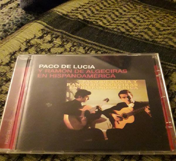 Paco de Lucía y Ramón de Algeciras en Hispanoamérica.