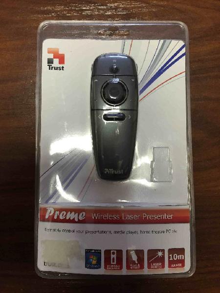 Presentador laser wireless trust nuevo