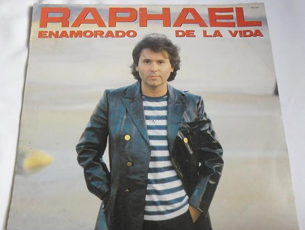 Raphael– enamorado de la vida - lp spain 1983