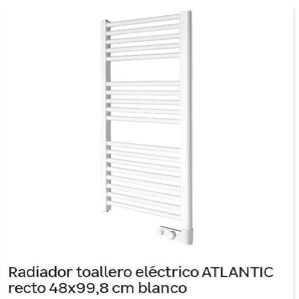 Radiador toallero eléctrico atlantic