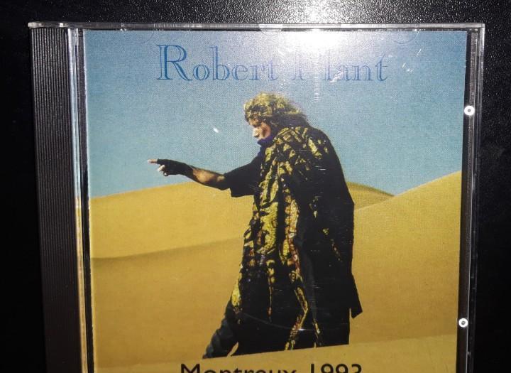 Raro cd live robert plant montreux 1993 led zeppelin