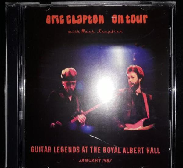 Raro live 2 cd eric clapton & mark knopfler royal albert