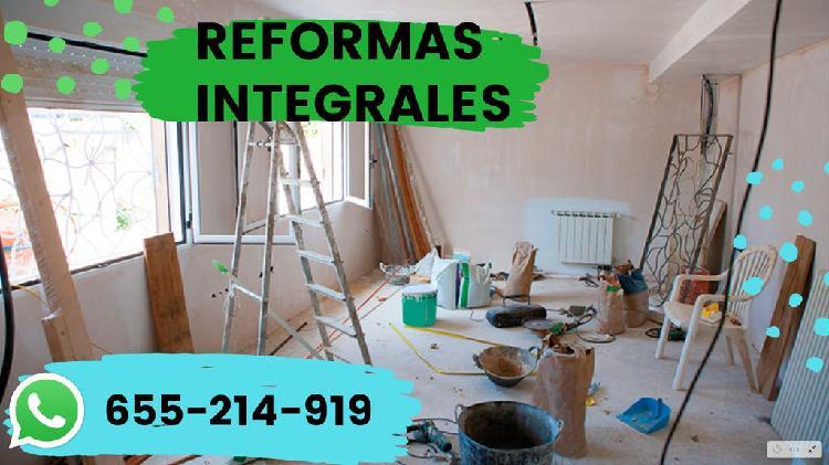 Reformas integrales!!!