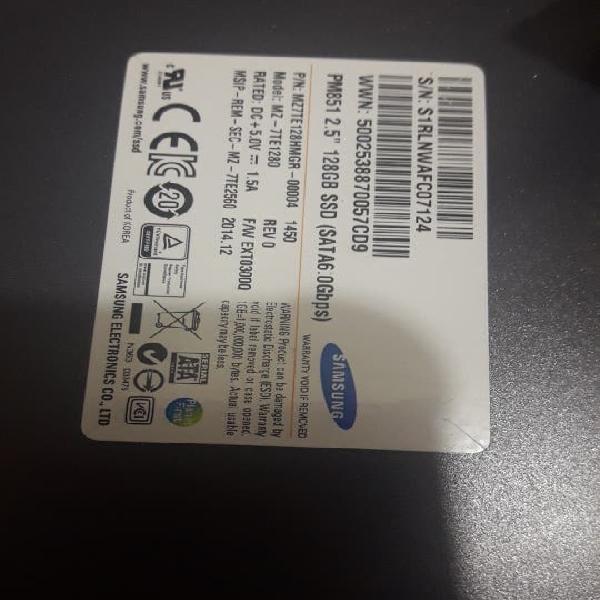 Samsung ssd 128gb
