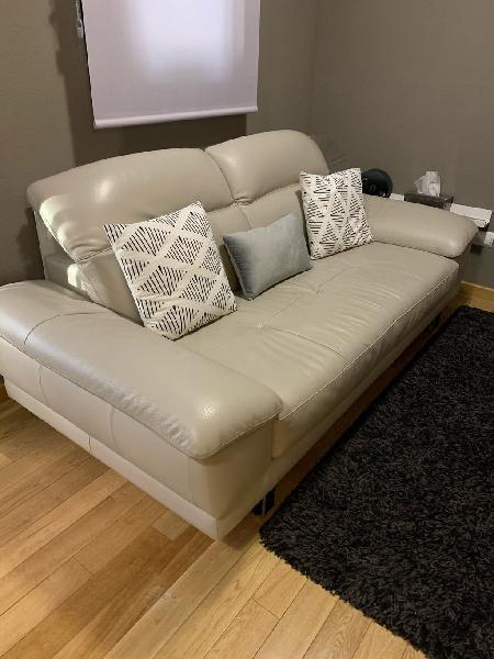 Sofa 2 plazas piel - edition by natuzzi