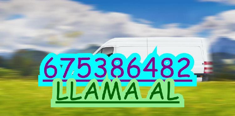 Transportes, traslados y mudanzas baratas i