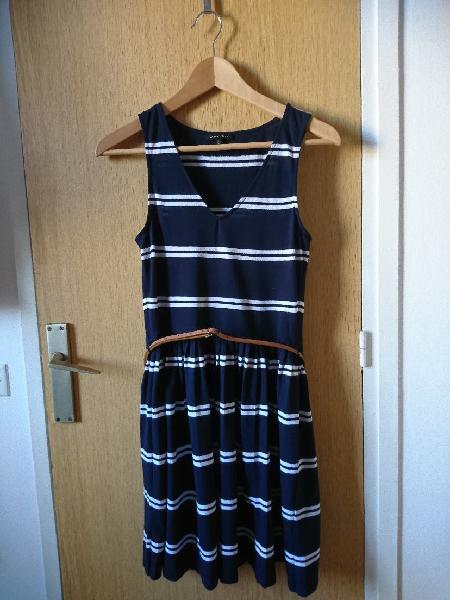 Vestido marinero massimo dutti, talla s