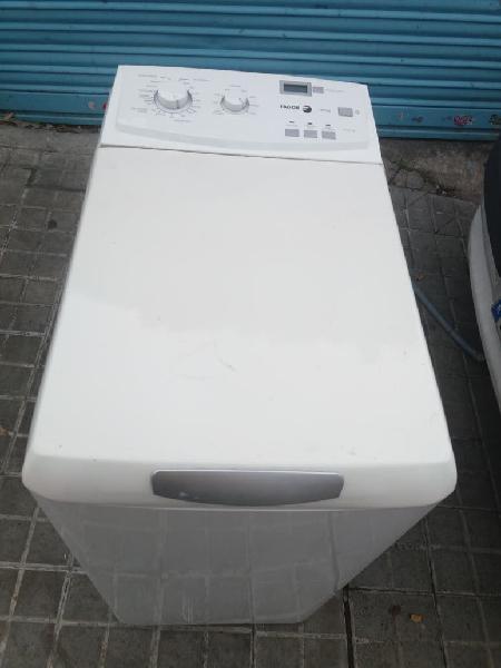 Fagor lavadora carga superior con transporte
