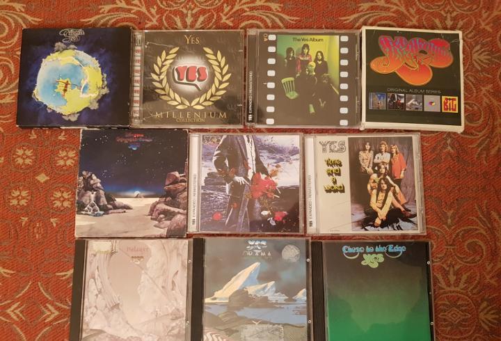 Lote 10 cds,estuche yes.remasterizados años 2000.ver