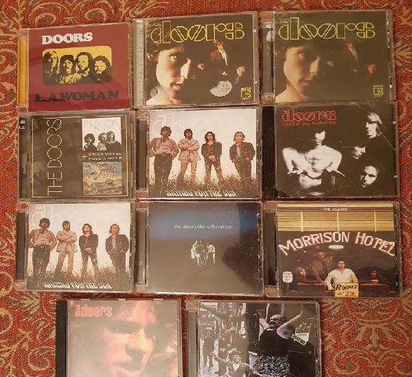 lote 11 cds the doors.remasterizados años 2000.VER DETALLEs