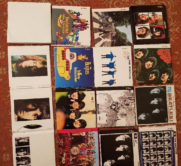 lote 13 cds the beatles,remasterizados años 2000.VER