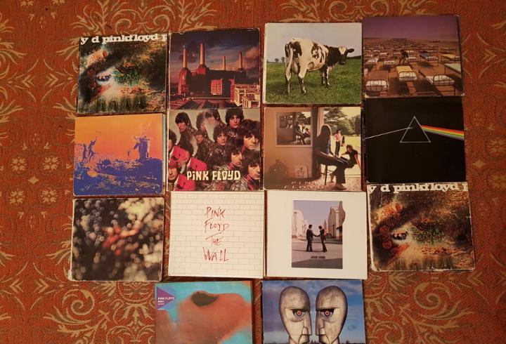lote 14 cds estuche pink floyd.remasterizados años 2000.VER