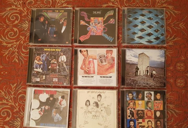 lote 9 cds the who.remasterizados años 2000.VER DETALLEs y