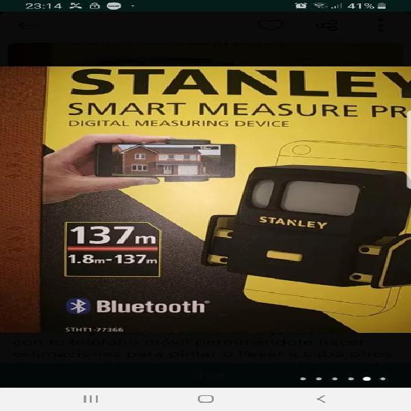 Medidor laser stanley measure pro