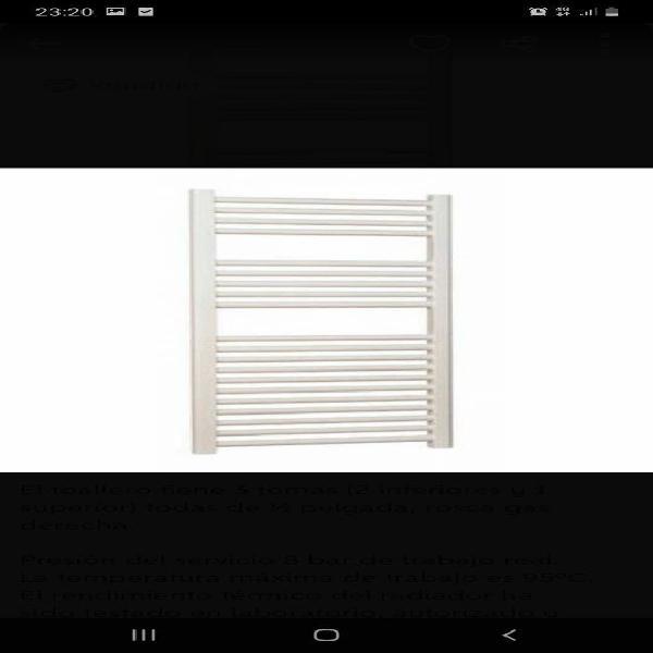 Radiador toallero concept