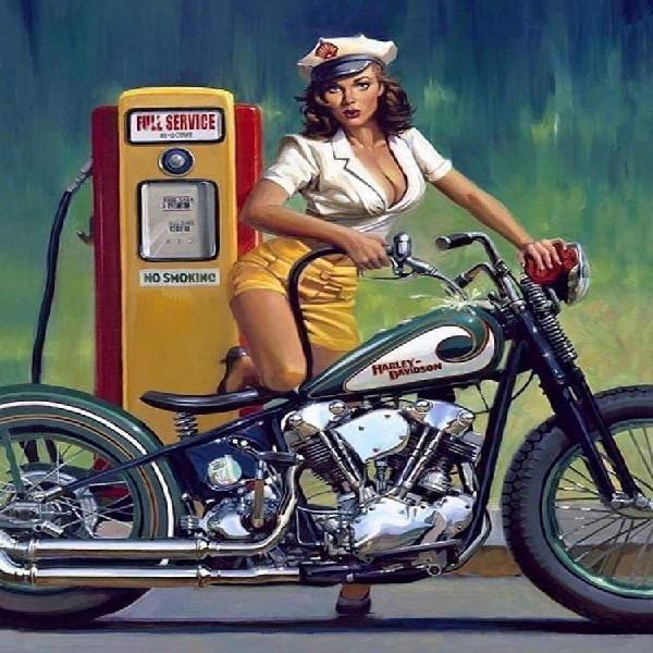Recojo motos antiguas.
