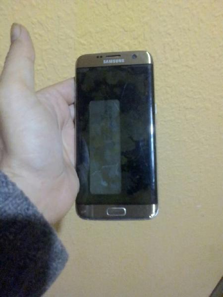 Samsung s7 edge pantalla rota y sin tapa de atrás