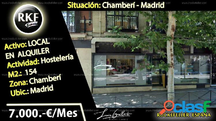Local comercial - arapiles, chamberí, madrid [229680/local alquiler]