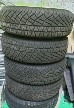 4 neumáticos michelin 235/70r16