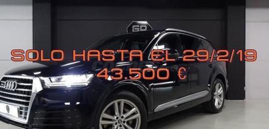 Audi q7 3.0 tdi 272cv quattro tiptronic sport 5p.