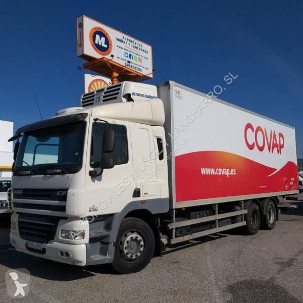 Camión daf frigorífico cf 410 4x2 diesel euro 5 rampa