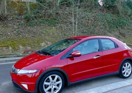 Honda civic 1.8 ivtec executive textil ishift 5p.