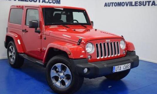 Jeep wrangler 2.8 crd sahara auto 3p.