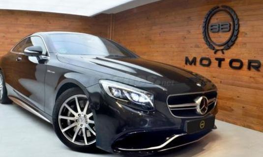 Mercedes-benz clase s mercedesamg s 63 4m coupe 2p