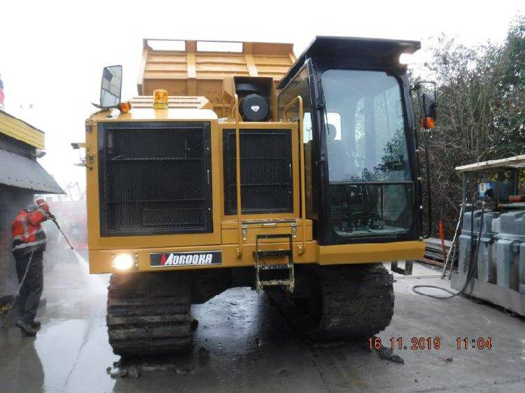 Morooka mst 2200 v dr caterpillar dump truck