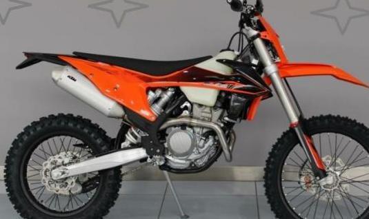 Motocicleta ktm exc-f 350