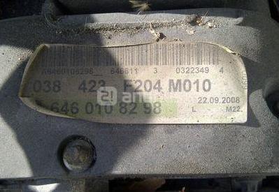 Motor y caja mercedes c220 cdi w204