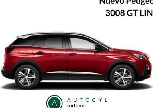 Peugeot 3008 1.5l bluehdi 96kw 130cv ss gt line 5p