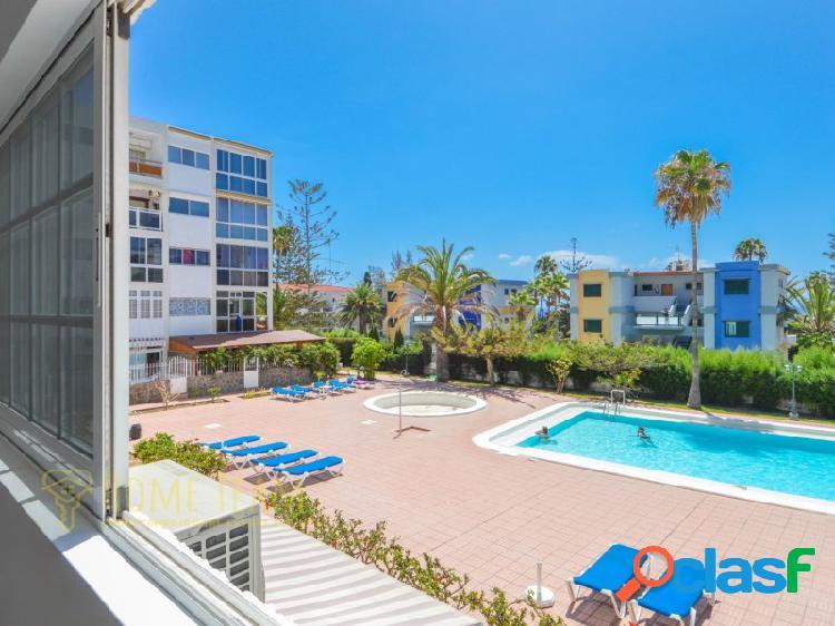 Apartamento céntrico y reformado en playa del inglés