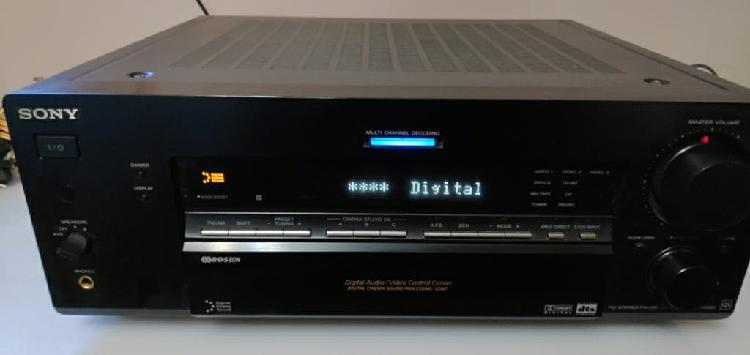 Amplificador home cinema sony str db-840