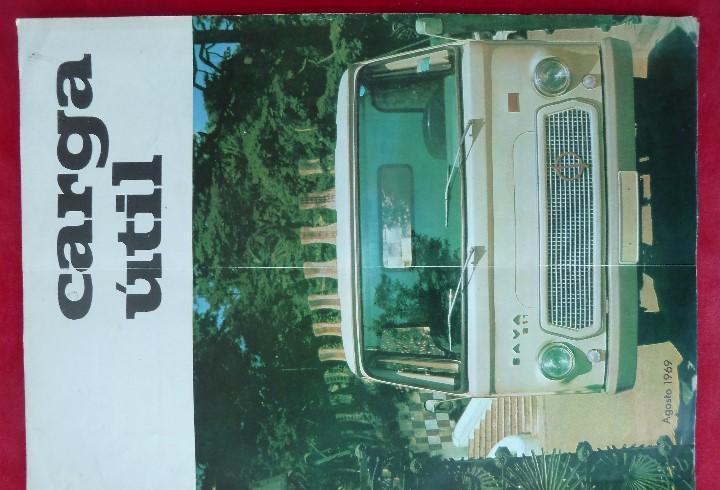 Antigua revista-carga util·agosto 1969-editada por s.a.v.a.