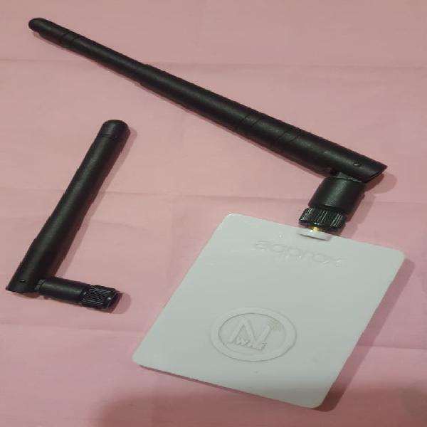 Adaptador red wifi-n aqprox wlan 150mbps