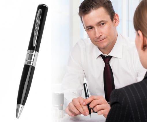 Bolígrafo con cámara espía en alta definición nuev