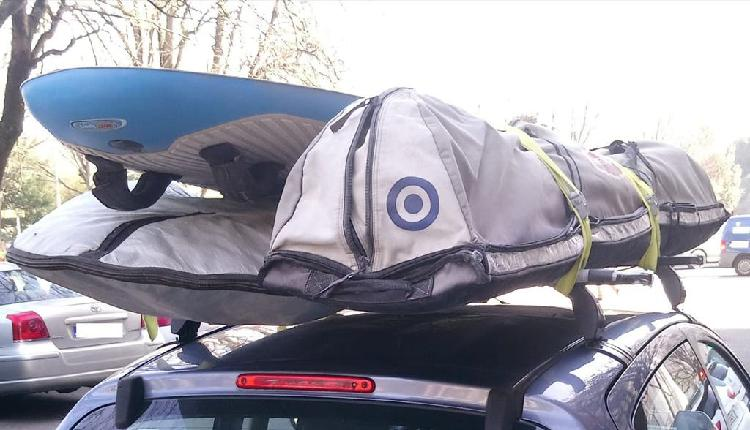 Bolsa transporte velas y mástiles windsurf