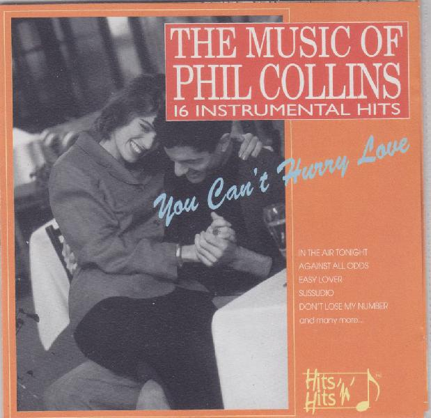 Cd instrumental - the music of phil collins