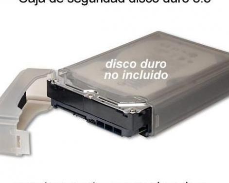 Caja seguridad disco duro 3,5 pulgadas ide y sata