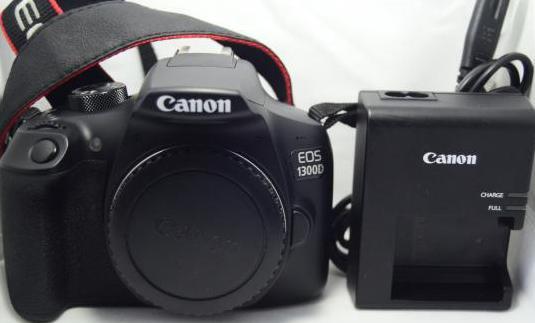 Camara reflex canon 1300d rebel t6