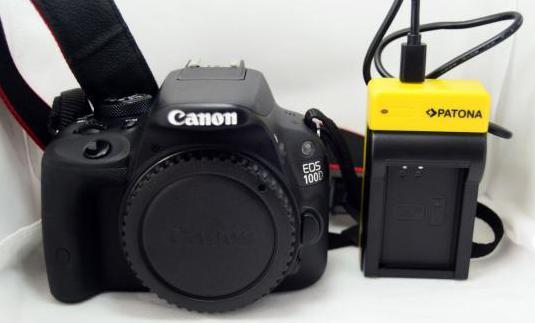 Camara reflex canon sl1 eos 100d cuerpo