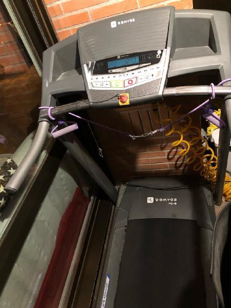 Cinta de correr fitnes domyos TC5