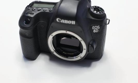 Cámara canon 6d