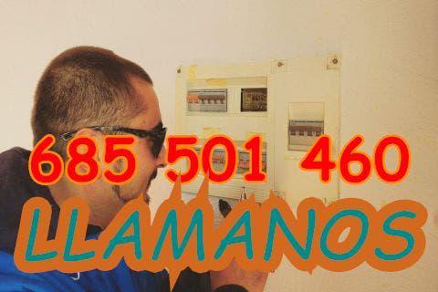 Electricista fontanero manitas urgencias 24/