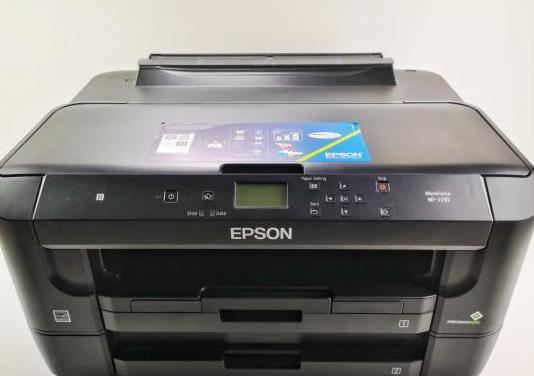 Impresora epson wf-7120 (a3)
