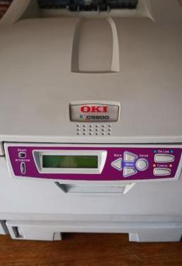 Impresora laser color oki c5200