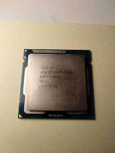 Intel i5-3570 3.40ghz lga1155 cpu microprocesador